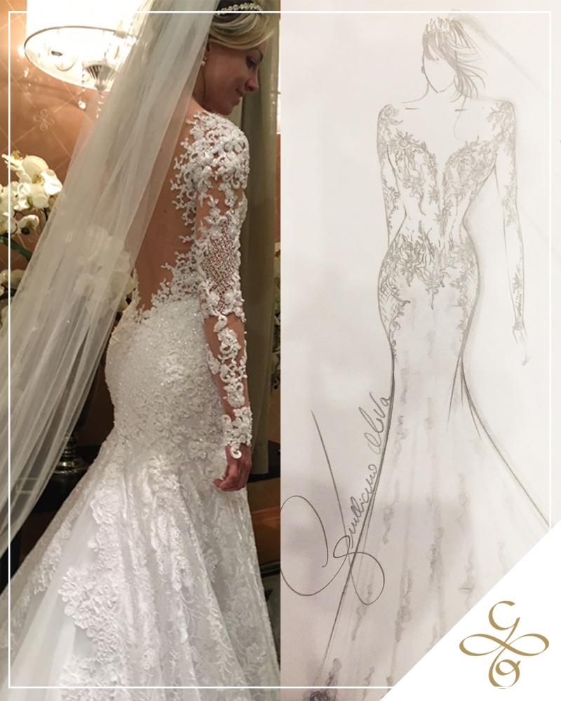 Desenhando Vestidos De Noivas Giulliano Oliva